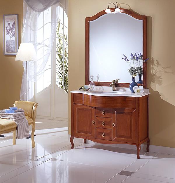 Arredo bagno classico forever 105 s - Arredamento bagno classico ...