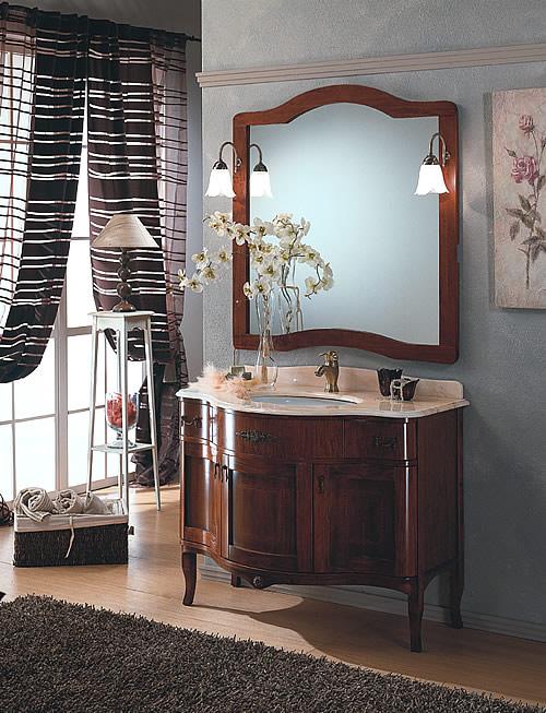 mobili bagno classico iris 105 al - Immagini Arredo Bagno Classico