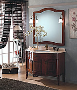 Miscelatori lavabo angolare con mobile classico - Arredo bagno civita castellana ...