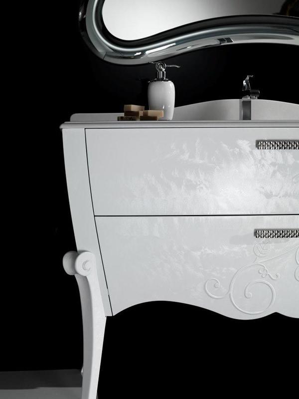 Mobile bagno classico charme 1 - Mobile bagno classico bianco ...