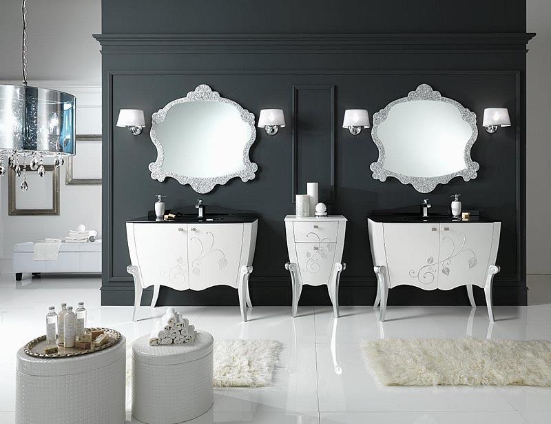Mobile bagno classico margot 8 for Arredo bagno moderno elegante