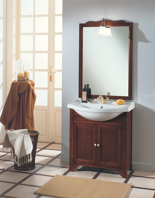 Bagno classico marte 75 s for Arredo bagno classico elegante prezzi