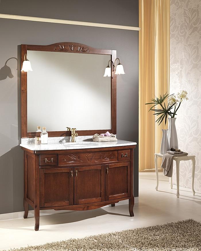 Mobili classico bagno viola 115 - Mobile da bagno classico ...