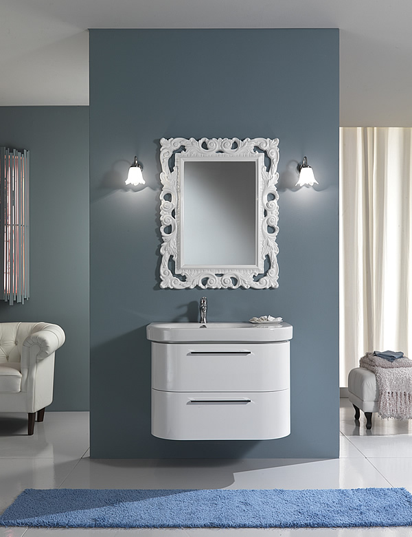 Mobili bagno moderno fly 1 - Mobile bagno fly ...
