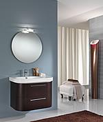 Mobili bagno moderno basic 1 - Specchio bagno incassato ...