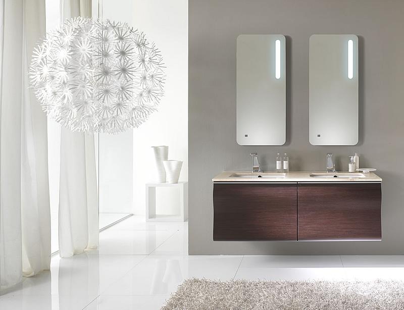 Gliss 140 composizione 10 mobile bagno moderno