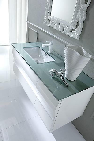 Il bianco nel tuo arredo bagno moderno - Accessori moderni bagno ...