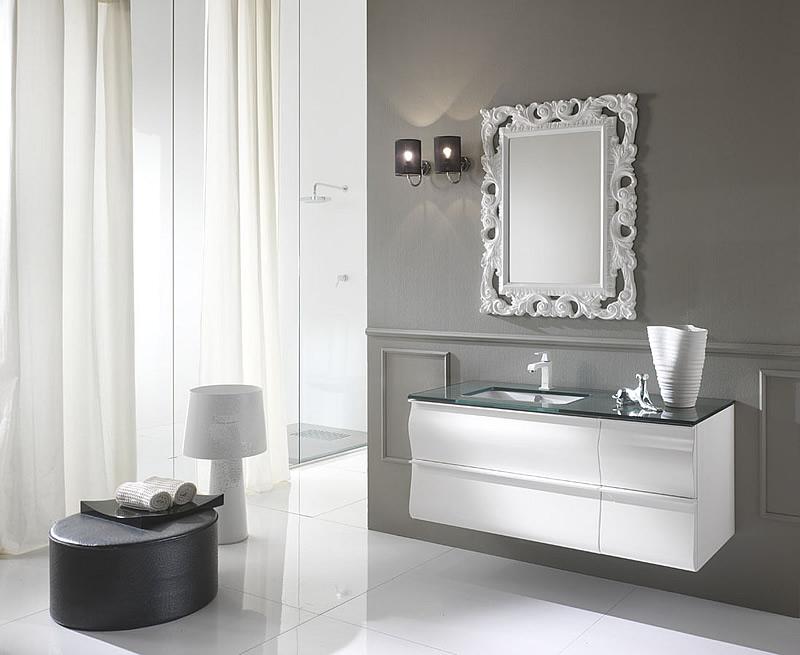 Il bianco nel tuo arredo bagno moderno
