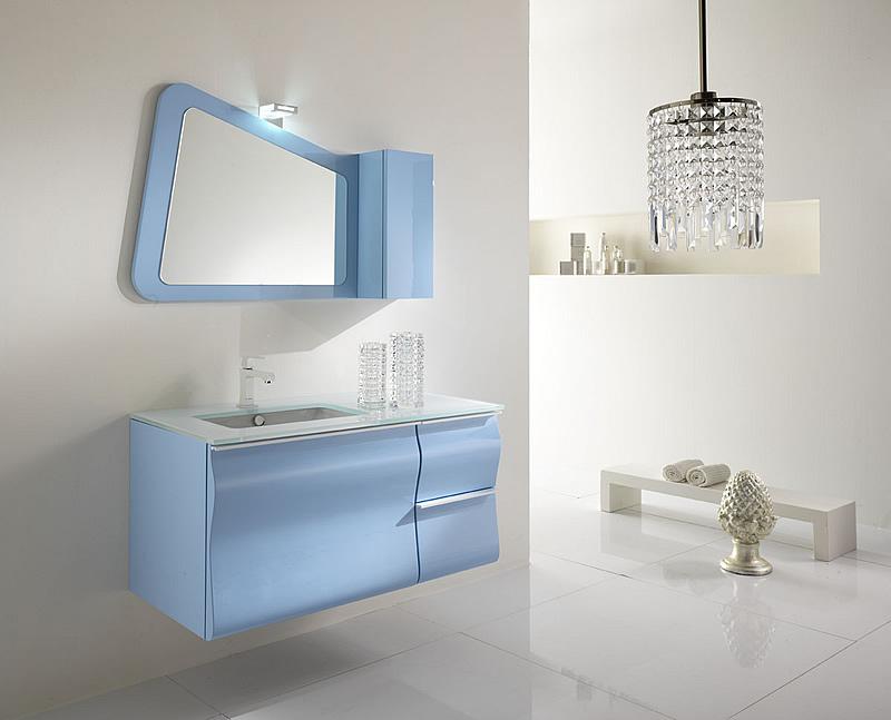 Celeste nuvola nel tuo mobile da bagno moderno - Mobili da bagno moderni scavolini ...