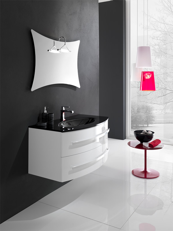 Specchi bagno moderni top light applique non stop with for Specchi arredo moderni