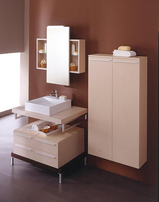 Arredo bagno moderno quadra for Lavandino bagno moderno