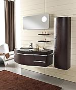 Design bagno moderno romantic for Arredo bagno viola