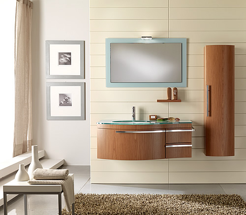 Arredo bagno moderno immagini e foto - Immagini mobili bagno moderni ...