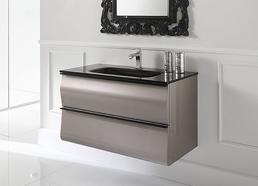 realizziamo lavabo e sanitari in ceramica o in vetro integrato con disegni e forme totalmente personalizzati e con finiture che comprendono anche mobili e
